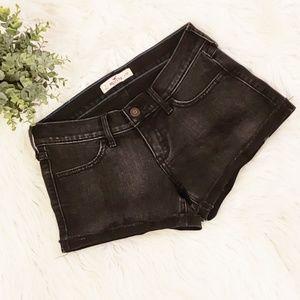 Black Hollister Jean Shorts Size 3